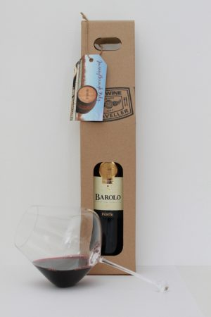 Barolo Wine of Kings & Glass Gift Pack