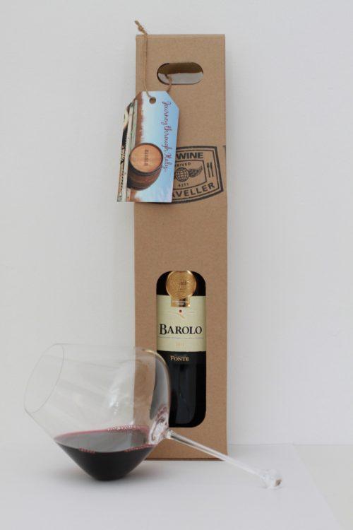Barolo Wine of Kings & Glass Gift Pack