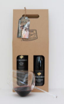 Brockenchack Shiraz Twin Gift Pack & Zalto Omega Glass